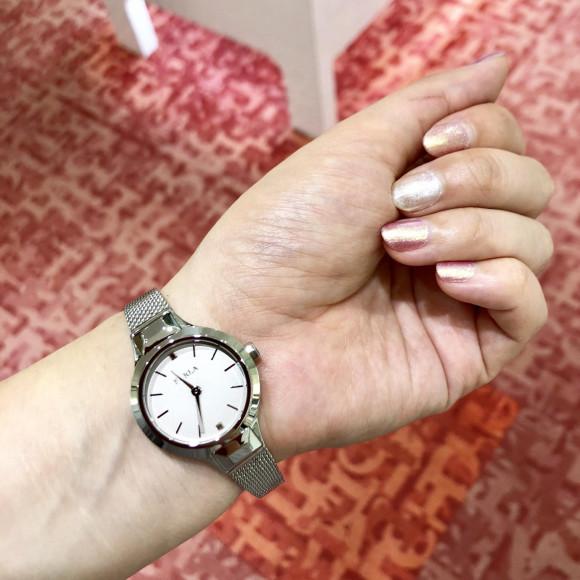 【TiCTAC札幌パルコ店】メッシュバンドの小ぶり時計✩︎⡱FURLA⌚︎