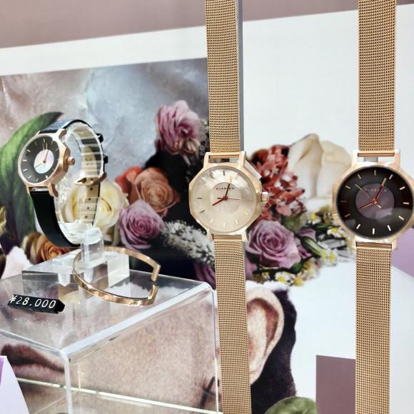 【TiCTAC札幌パルコ店】パールダイヤルで特別な時計をいち早く!KLASSE14先行発売⌚︎