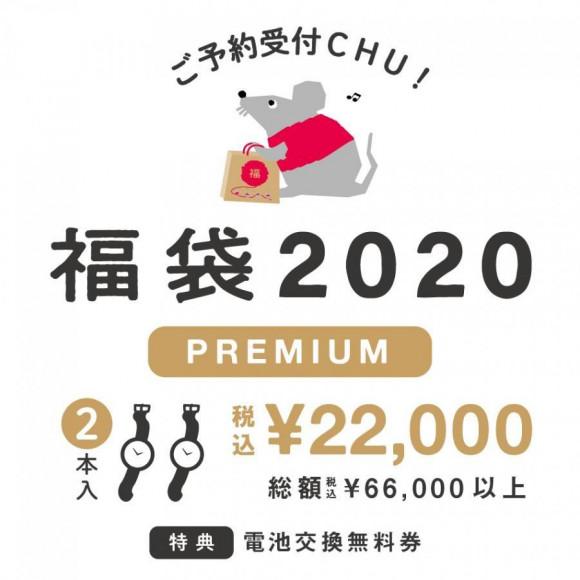 レディス福袋 腕時計2点 6万円相当 2万円