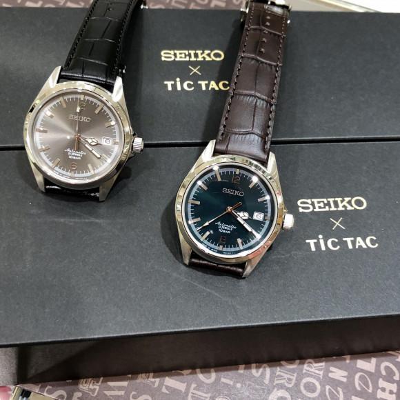 【TiCTAC札幌パルコ店】ついに発売!SEIKO×TiCTACコラボレーション⌚︎