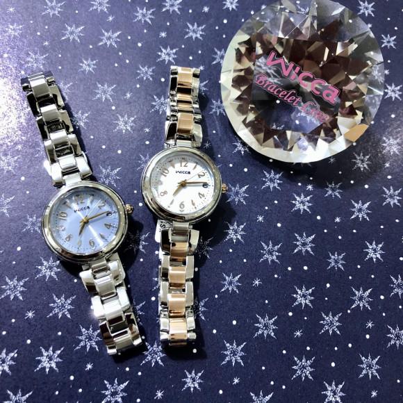 【チックタック札幌パルコ店】ズレがなく、華やかな時計✧︎*。wicca⌚︎