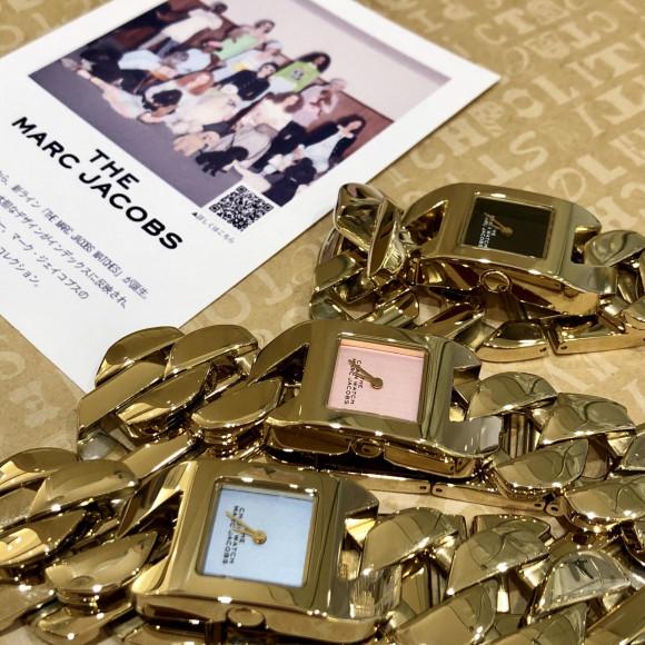 夏のオシャレを楽しむ!チェーン風時計⌚︎ THE MARC JACOBS【TiCTAC札幌パルコ店】