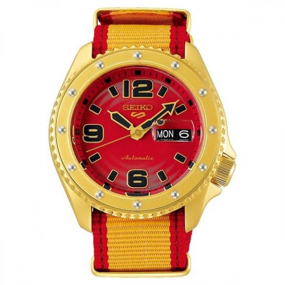 SEIKO 5 Sports セイコーファイブスポーツ Sense Style センススタイル ストリートファイターVコラボレーション限定モデル 世界9999本限定 ザンギエフ SBSA084 腕時計 メンズ