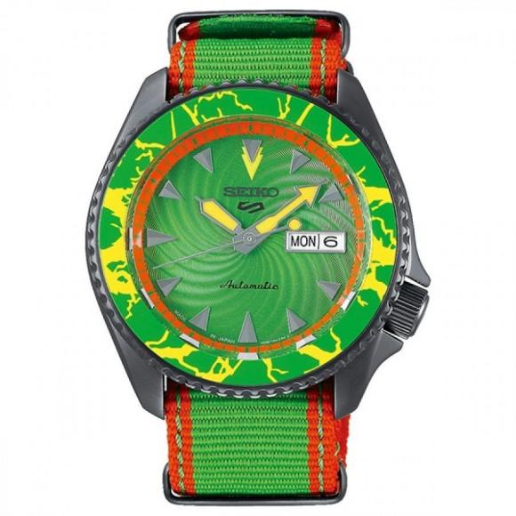 SEIKO 5 Sports セイコーファイブスポーツ Sense Style センススタイル ストリートファイターVコラボレーション限定モデル 世界9999本限定 ブランカ SBSA083 腕時計 メンズ