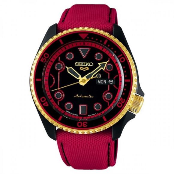 SEIKO 5 Sports セイコーファイブスポーツ Sense Style センススタイル ストリートファイターVコラボレーション限定モデル 世界9999本限定 ケン SBSA080 腕時計 メンズ