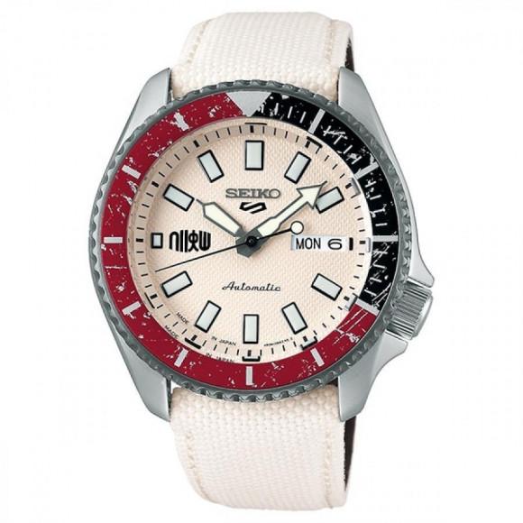 SEIKO 5 Sports セイコーファイブスポーツ Sense Style センススタイル ストリートファイターVコラボレーション限定モデル 世界9999本限定 リュウ SBSA079 腕時計 メンズ
