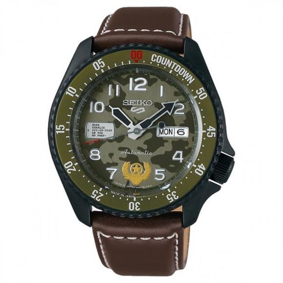 SEIKO 5 Sports セイコーファイブスポーツ Sense Style センススタイル ストリートファイターVコラボレーション限定モデル 世界9999本限定 ガイル SBSA081 腕時計 メンズ