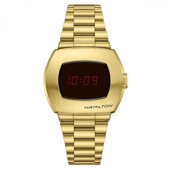 HAMILTON ハミルトン PSR ハミルトン パルサー H52424130 世界1970本限定 限定BOX付 デジタル YG PVD 腕時計 メンズ