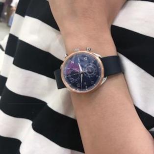 MASTER WORKS マスターワークス TiCTAC別注モデル Quattro 002 クアトロ クロノグラフ 腕時計 メンズ MW07SRN1-EDNVO81