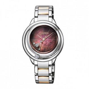 CITIZEN L  シチズン エル  腕時計 レディス エコドライブ  Arcly Collection アークリーコレクション  オアシス  EW5529-55W