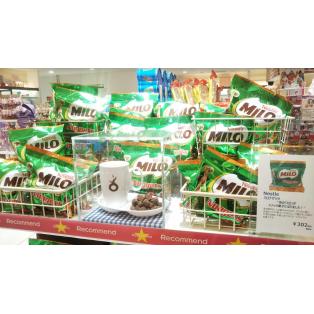 あの「ミロ」がスナック菓子に!!!今PLAZAで大人気の商品です!