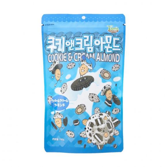 TOM'sのアーモンドから万人受け間違いなし!「クッキー&クリーム」が新登場!