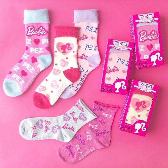 Barbie×PEZ バービー コラボソックス入荷しました!