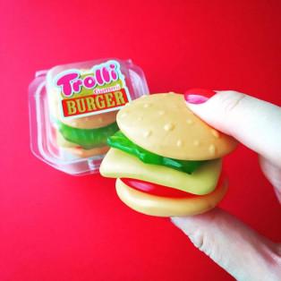 インパクト大!!!本物そっくりのハンバーガーグミ♪