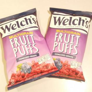 人気のジュースで知られている「Welch's(ウェルチ)」からスナック菓子が登場!!!