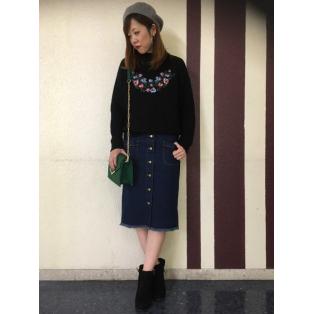 ☆花刺繍☆
