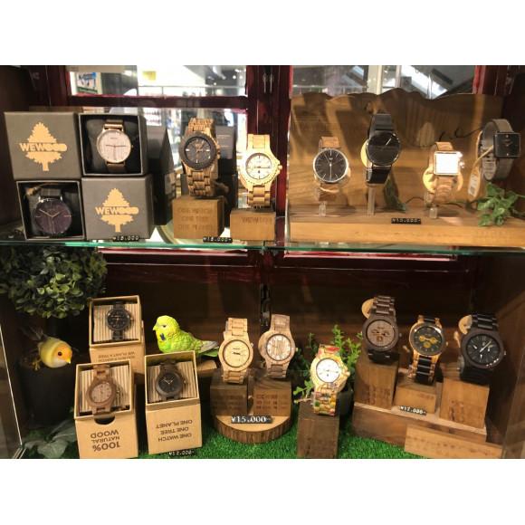 WEWOOD木製時計