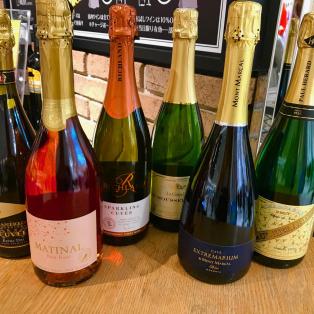 ★シャンパンも入った世界のスパークリングワイン6本セット!!