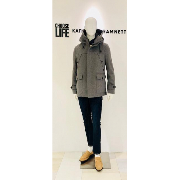「KATHARINE HAMNETT LONDON」SPECIAL PRICE COAT