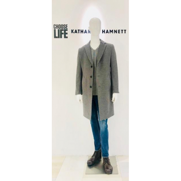 「KATHARINE HAMNETT LONDON」CHESTERFIELD COAT