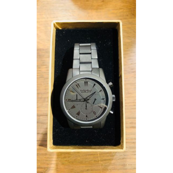 「KATHARINE HAMNETT LONDON」CHRONOGRAPH V