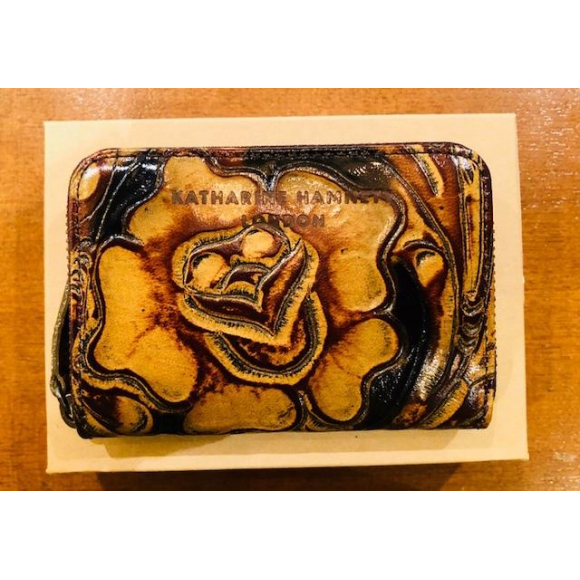 「KATHARINE HAMNETT LONDON」CRAFT COIN PURSE 18AW
