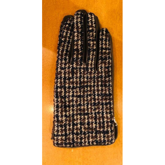 「KATHARINE HAMNETT LONDON」GUNCLUB CHECK PANEL GLOVE