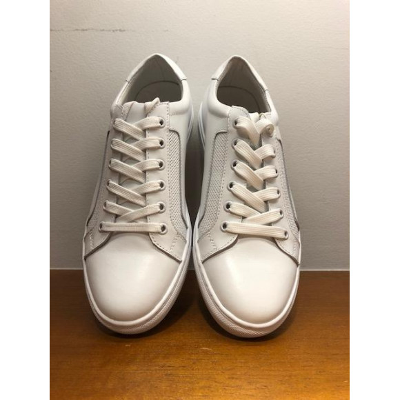 「KATHARINE HAMNETT LONDON」    LEATHER SNEAKERS