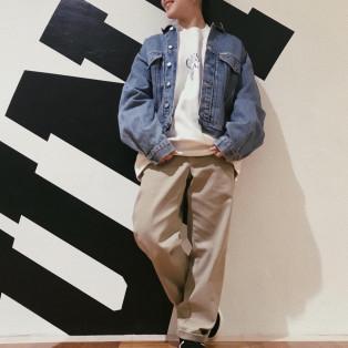 Vintage denim jacket入荷☺︎✴︎