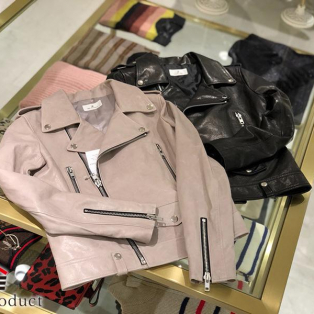 Re:Product Original Leather Riders Jacket for Woman,