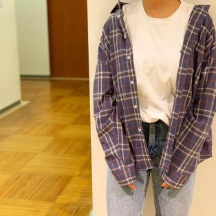 トレンドのビックシルエットシャツ☆