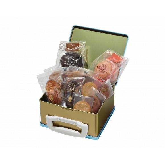 色々な焼き菓子の詰め合わせ!『お菓子のトランク缶 アソートメント』
