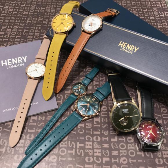 【HENRY LONDON】ヘンリーフェア開催中!
