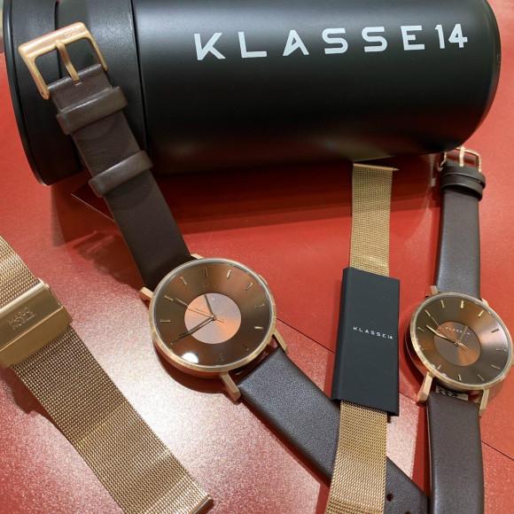 【KLASSE14】秋新作ブラウン入荷しました!