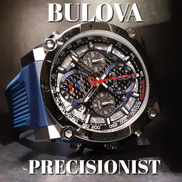 【BULOVA】1/1000秒のクロノグラフ【ブローバ】