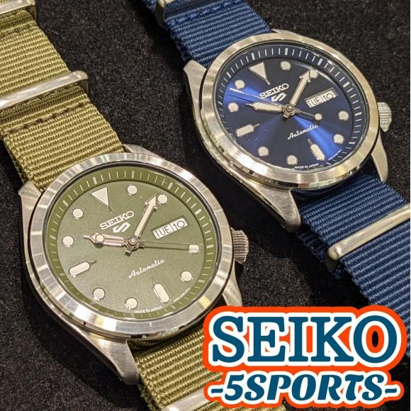 【SEIKO 5 SPORTS】夏につけたいダイバーズデザイン!【セイコー5スポーツ】