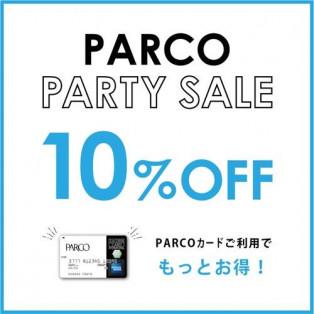 【5/23-27期間限定】PARTY SALE!!