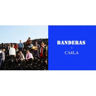 サルサの名のもとに集まった「BANDERAS」1stアルバムリリースを記念してCA4LAとコラボレーション!