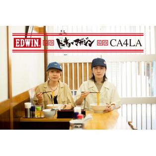 EDWIN×CA4LA×TYO magazine トーキョー ラーメンキャップ TYO Ramen Cap