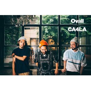 Ovall x CA4LA コラボレーションアイテムが 8/26(水)に発売