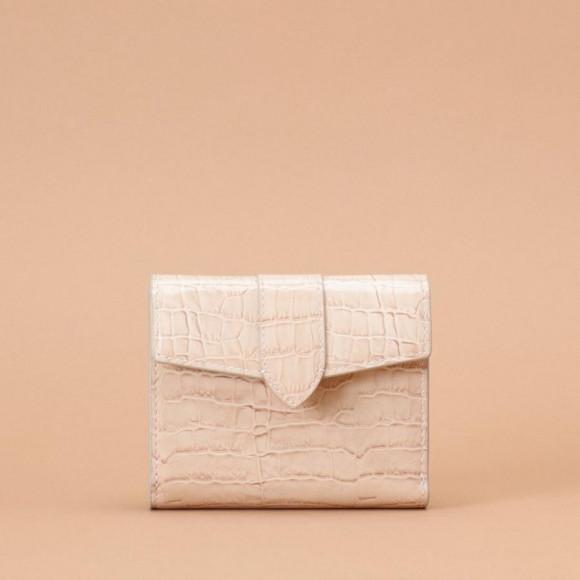 シンプル 折財布