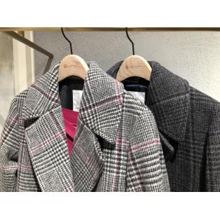 【MY COAT STYLE】チェックコート