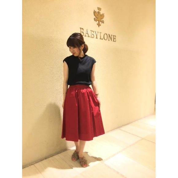 【SALE】BROADギャザースカート