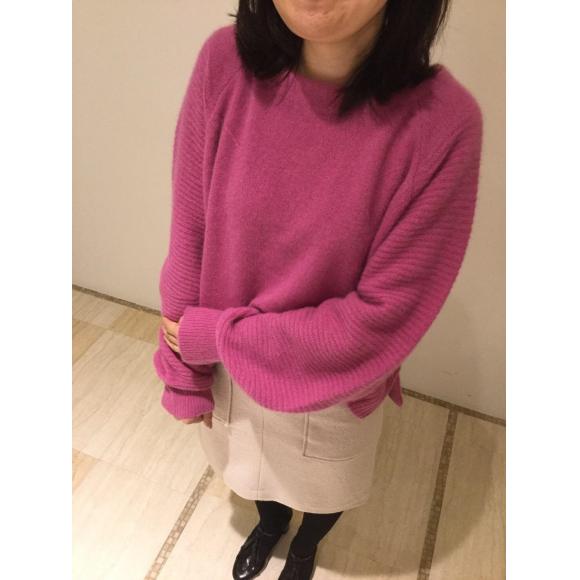 【My Knit Style】ボリュームニットコーデ
