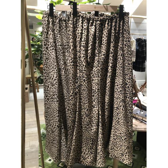 NEW!レオパードスカート