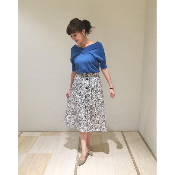 【price down】レオパードスカート