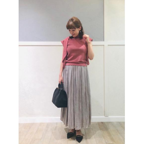 【NEW 】カッセンレオパジャガードプリーツスカート