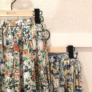☆スカート特集☆ 花柄プリントスカート