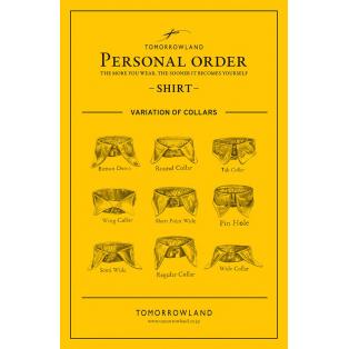 PERSONAL ORDER -SHIRT-