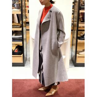 Primium Wool River No Collar Coat
